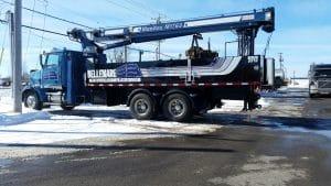 camion neuf pour les couvreurs de bellemare couvertures