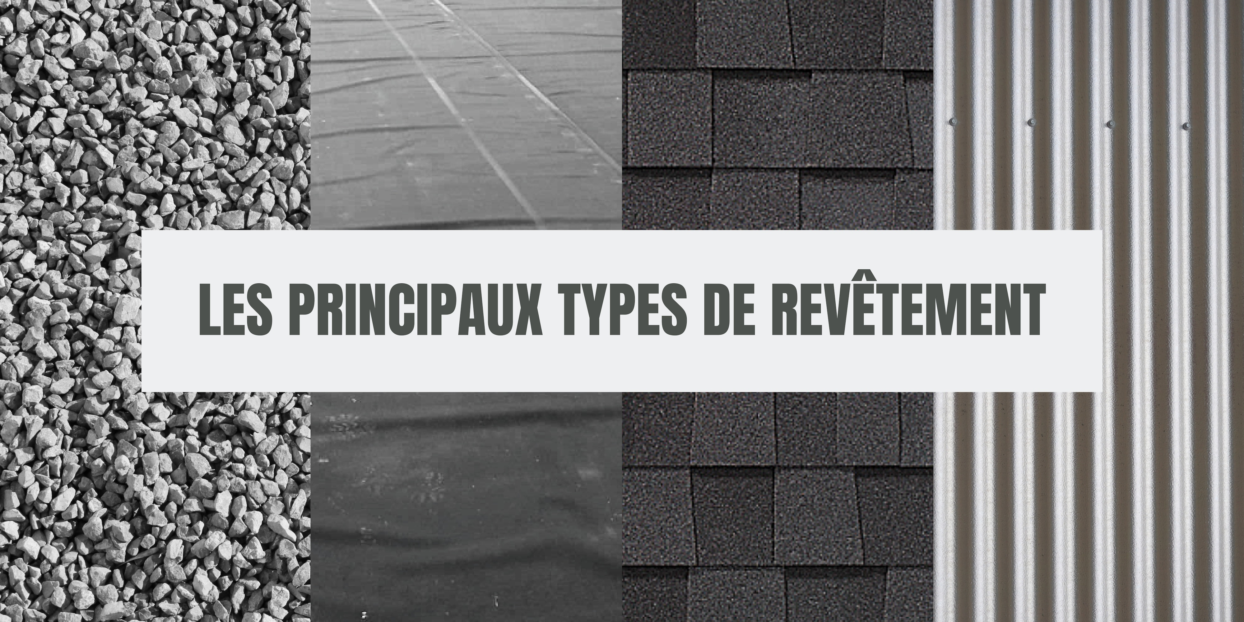 types materiaux toiture